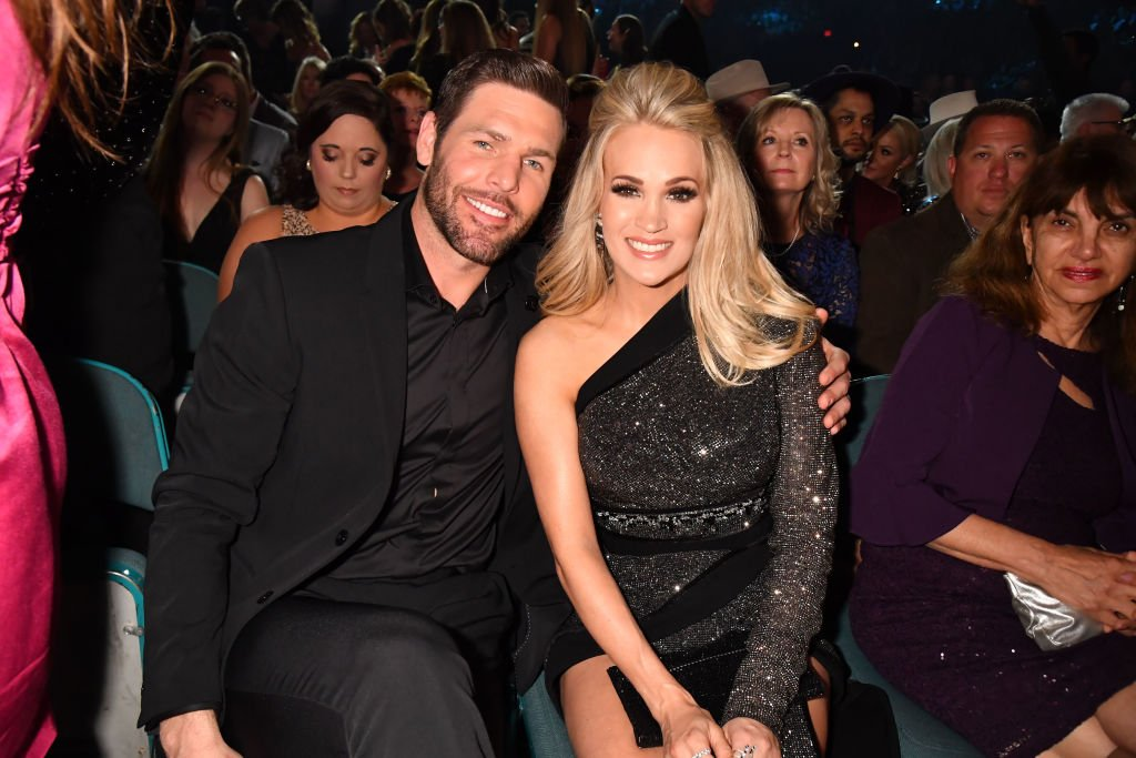 Image Credit: Getty Images / Mike Fisher and Carrie Underwood attend the 54th Academy Of Country Music Awards at MGM Grand Garden Arena on April 07, 2019 in Las Vegas, Nevada.