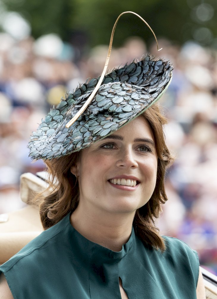 Image Credit: Getty Images / Princess Eugenie at a public event.
