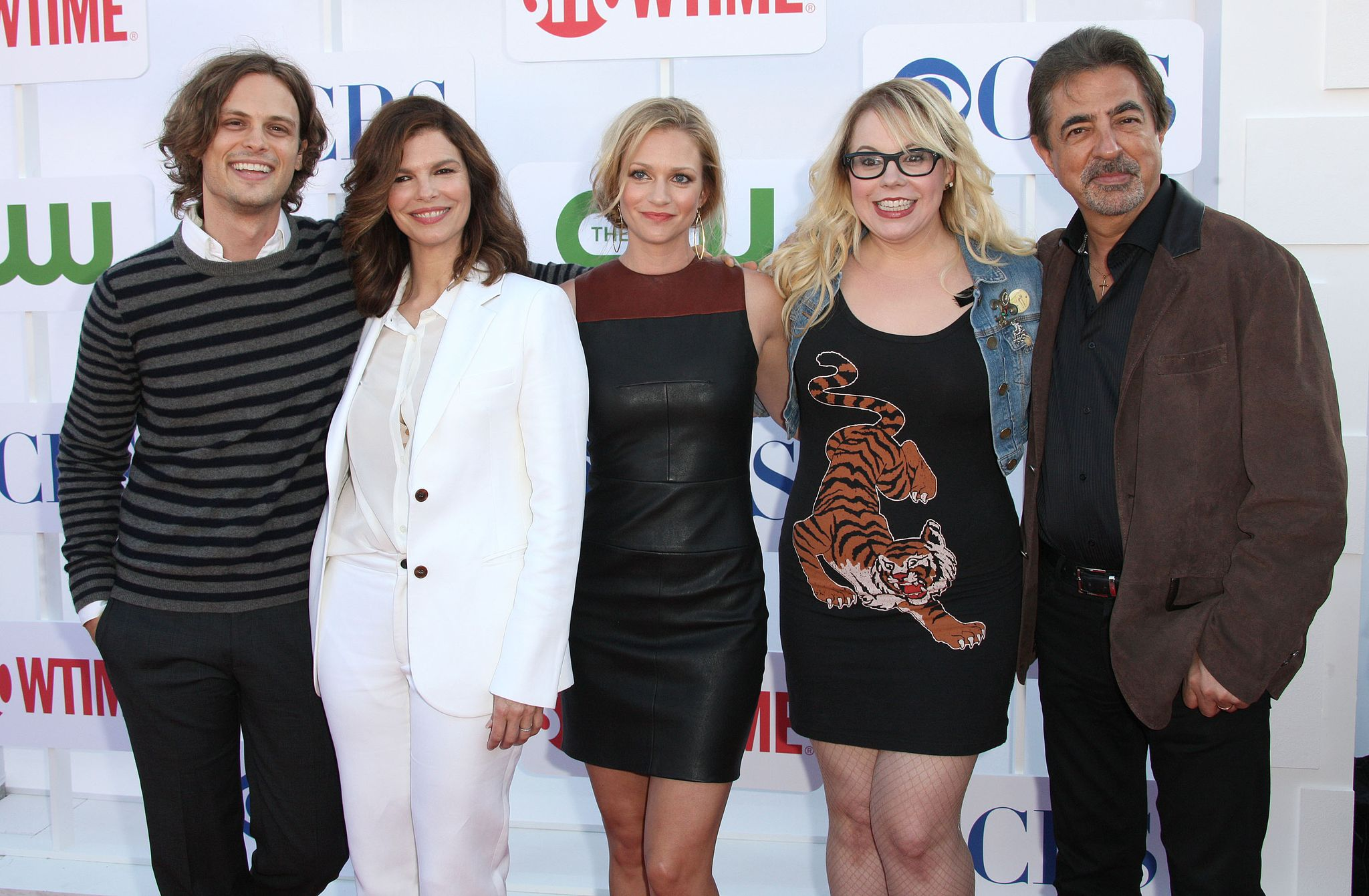 Joe Mantegna with 'Criminal Minds' co-stars / Getty Images
