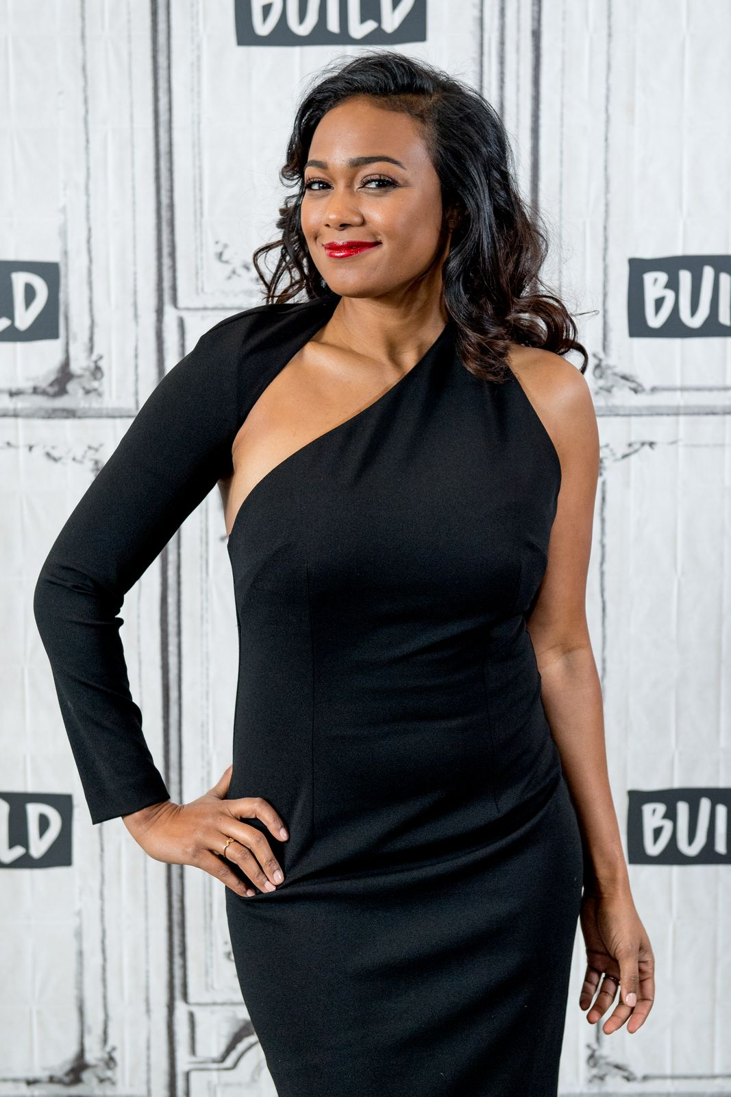 Tatyana Ali on the BUILD series/Photo:Getty Images