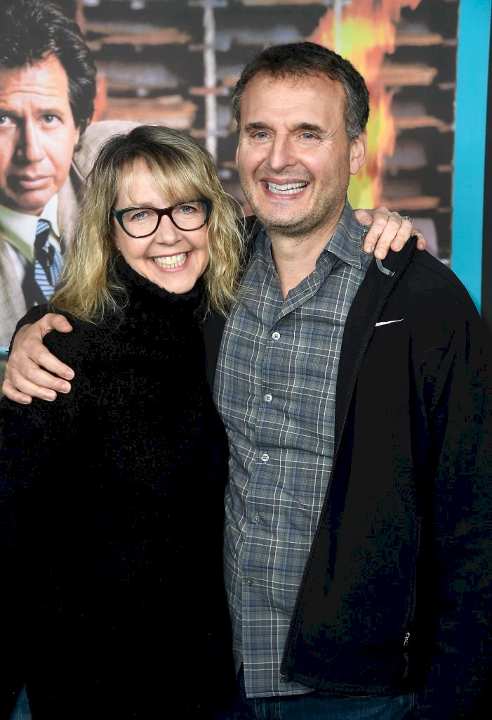 """Image Credits: Getty Images / Monica Horan and Phil Rosenthal attend the screening of HBO's """"The Zen Diaries Of Garry Shandling"""""""