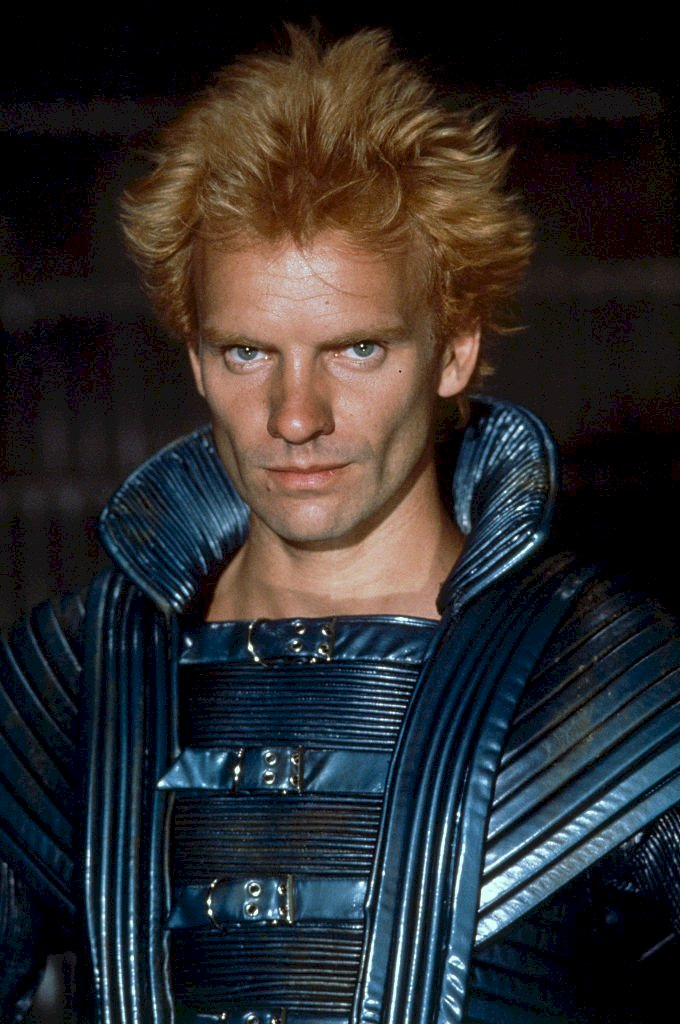 Image Credit: Getty Images/Sygma via Getty Images/Nancy Moran | Sting on the set of Dune