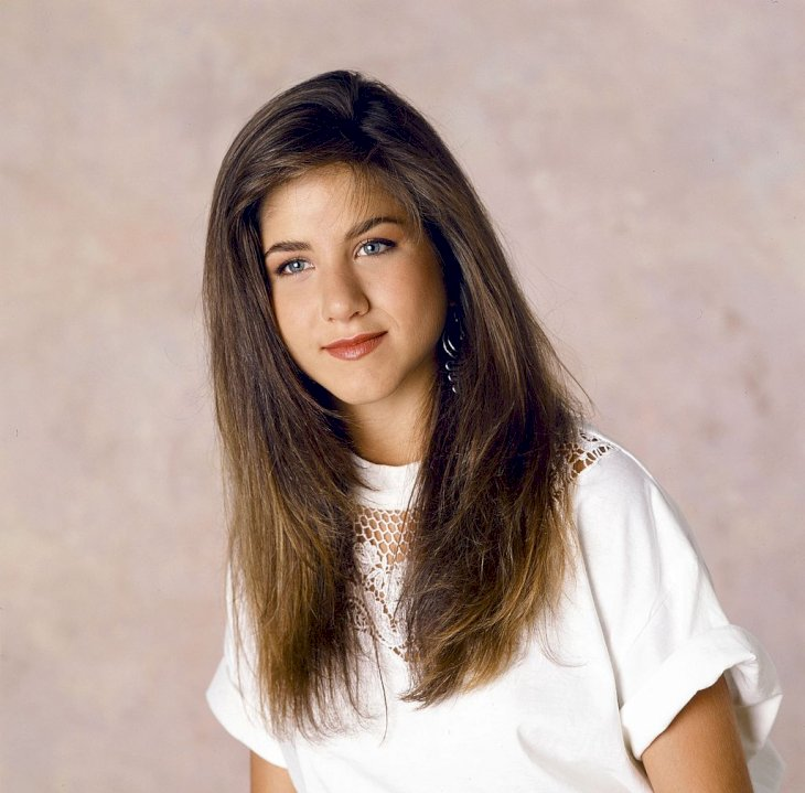 Image Credits: Getty Images / Alice S. Hall / NBC / NBCU Photo Bank | Jennifer Aniston in June 1990.