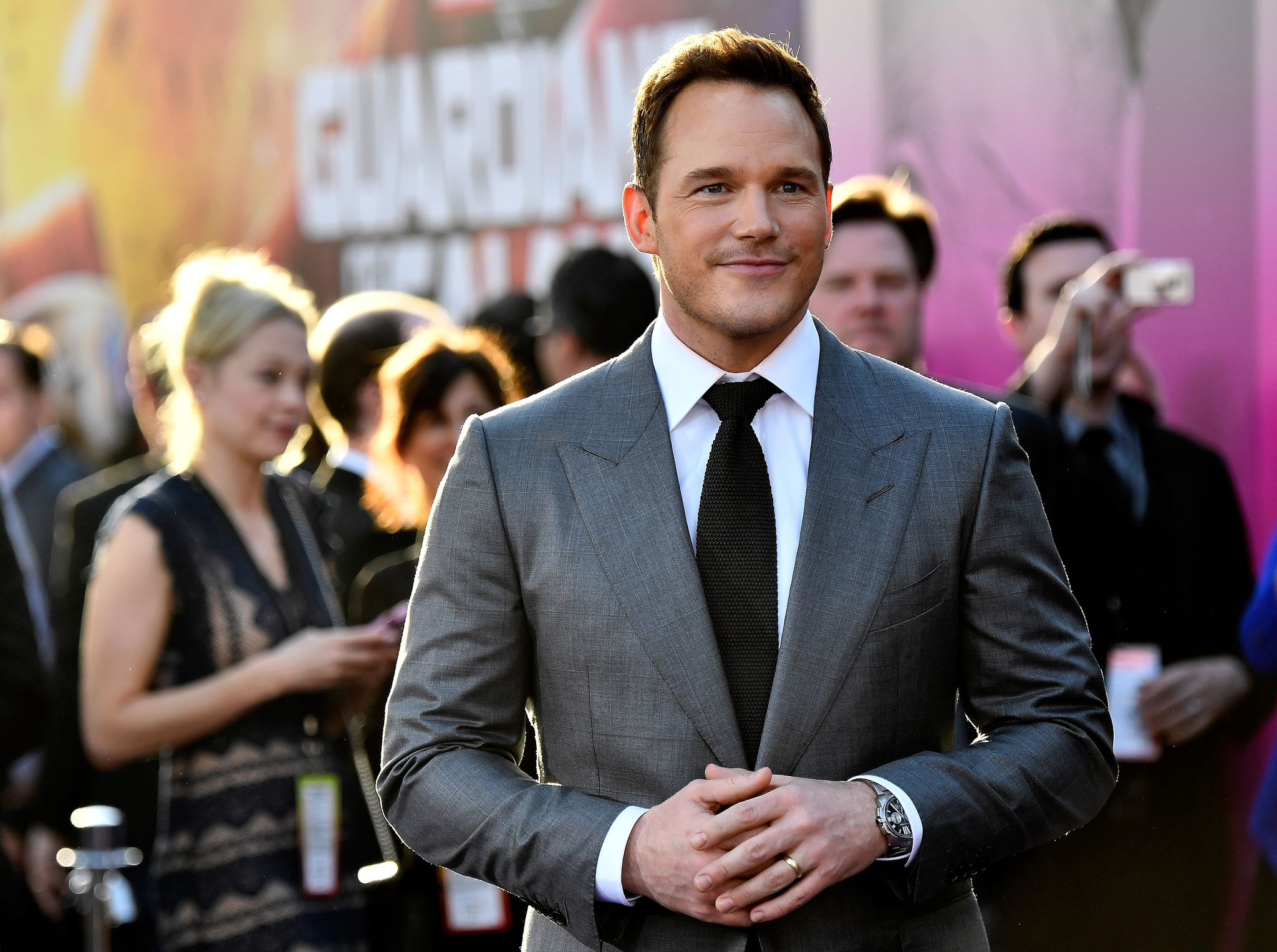 The star of Guardians of the Galaxy, Chris Pratt / Getty Images