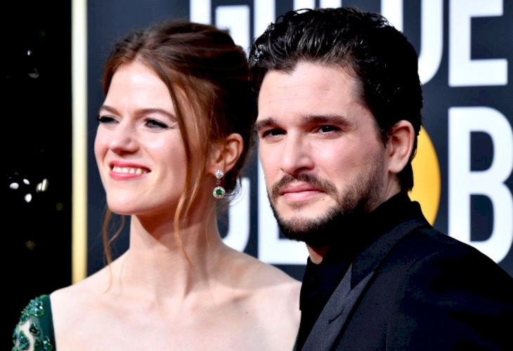 Kit Harrington and Rose Leslie/Photo:Getty Images