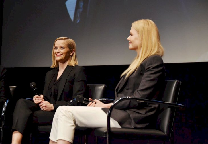 Image Credit: Getty Images / Nicole Kidman and Reese Witherspoon at an event.