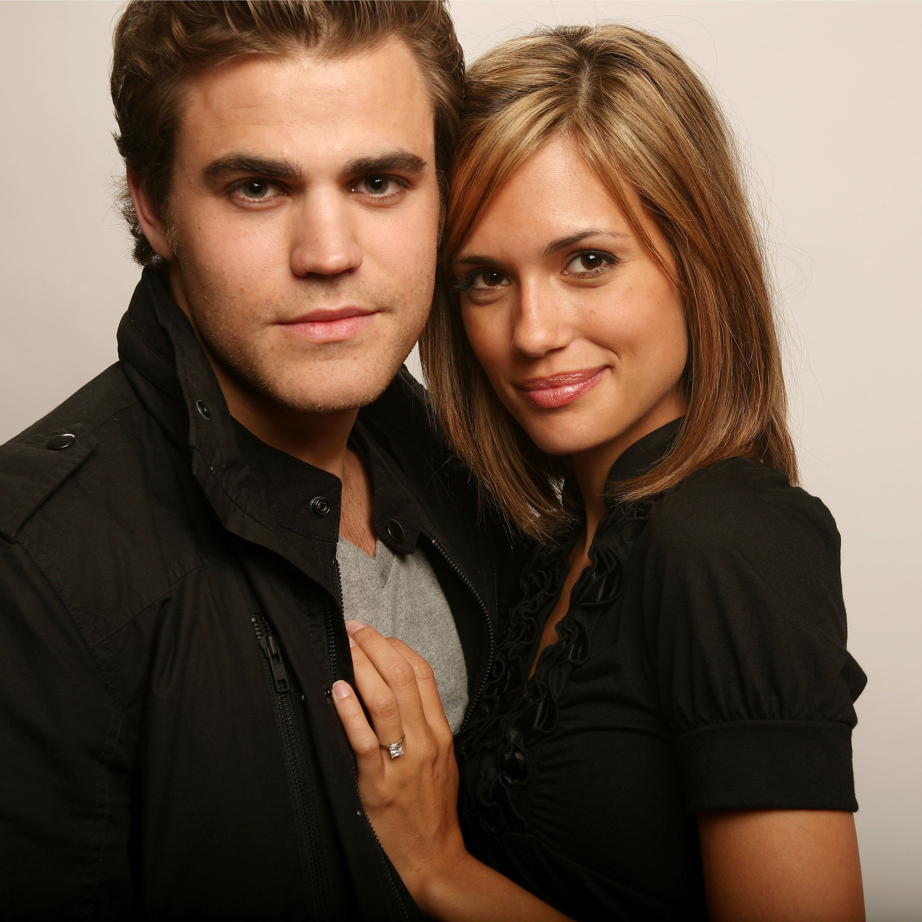 Paul Wesley and Torrey DeVitto/Photo:Getty Images