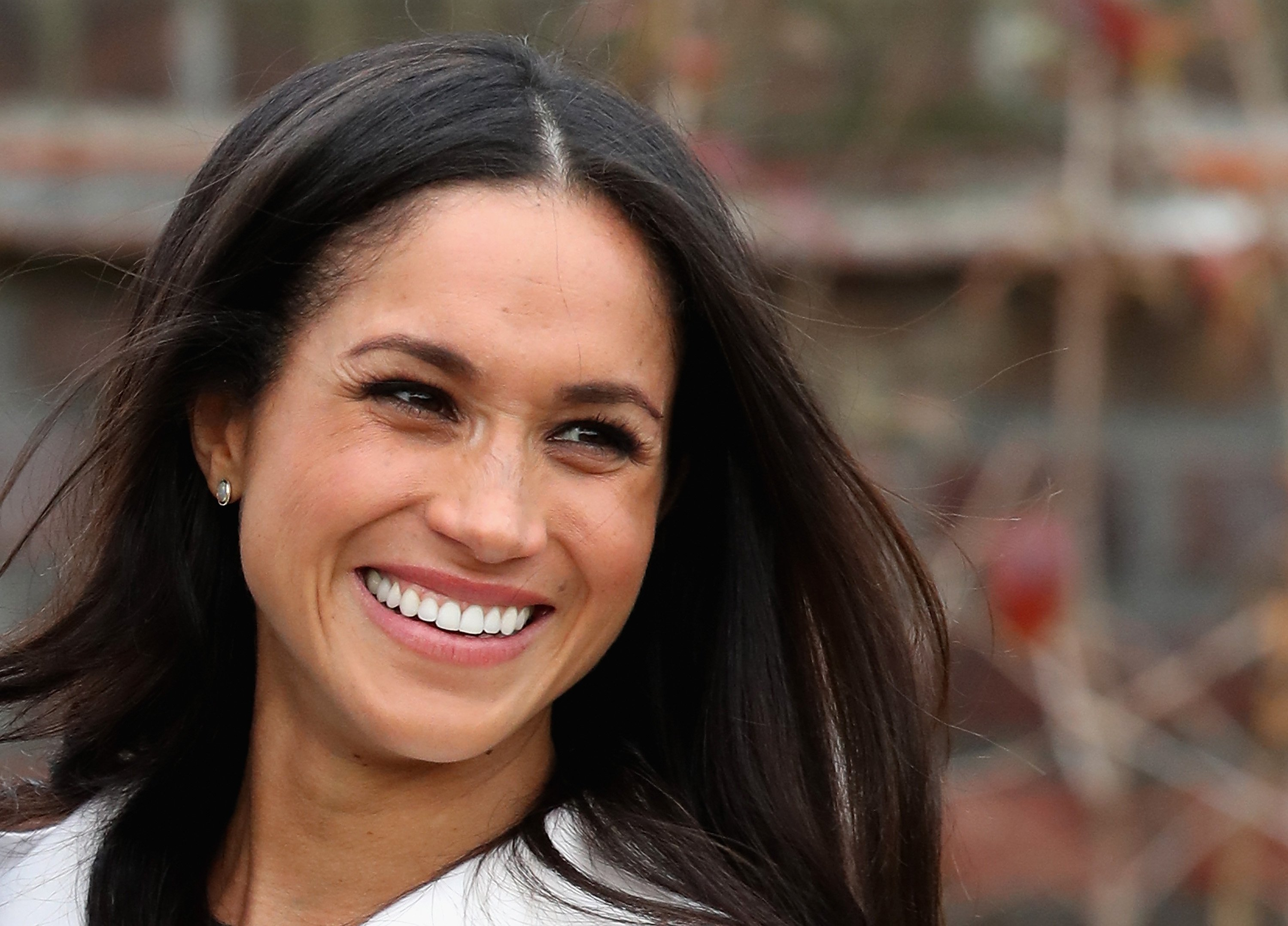 Image Source: Getty Images/A photo of Meghan Markle