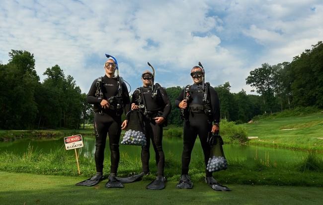 Image credits: Golf Ball Divers