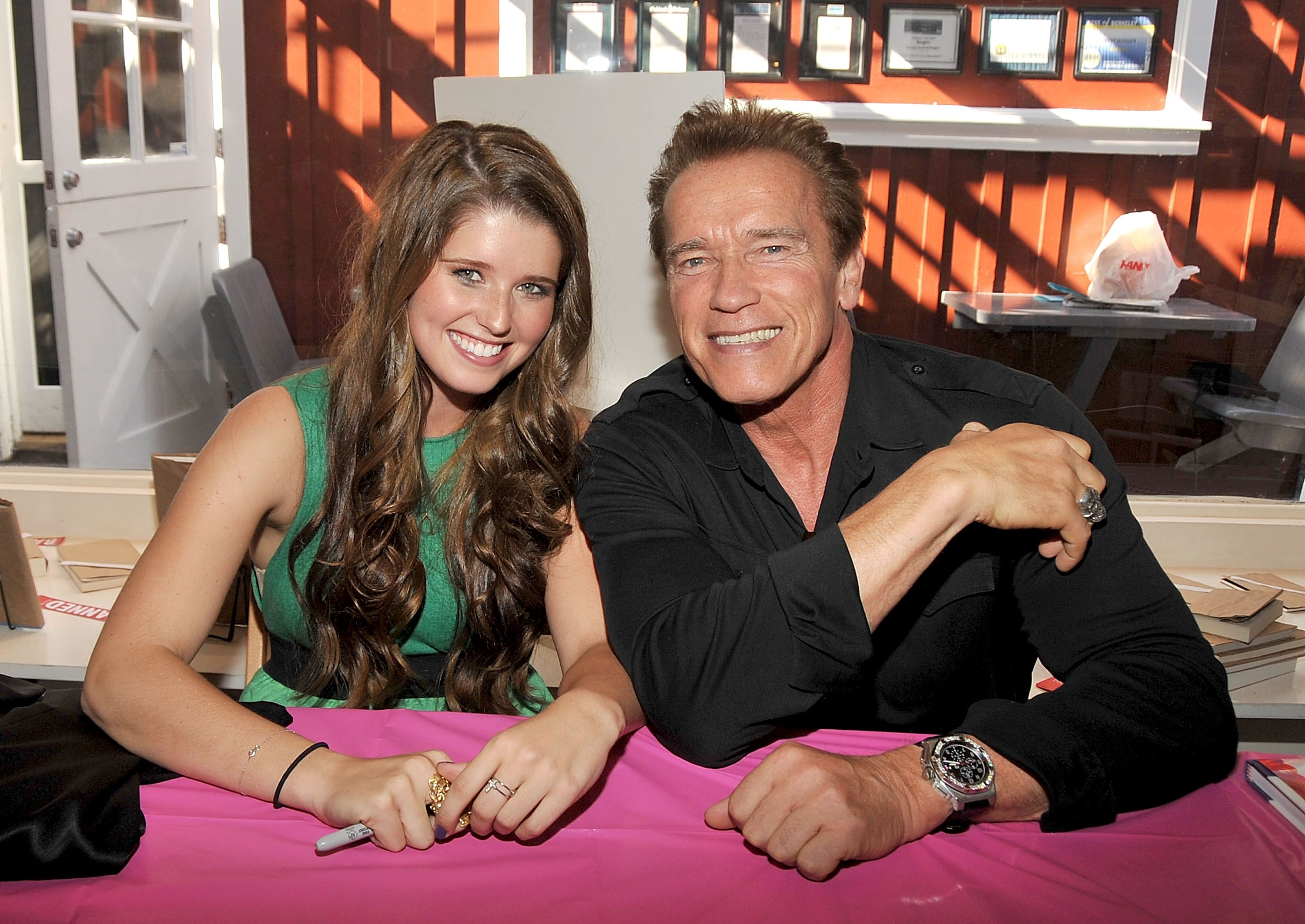 Arnold and Katherine Schwarzenegger / Getty Images