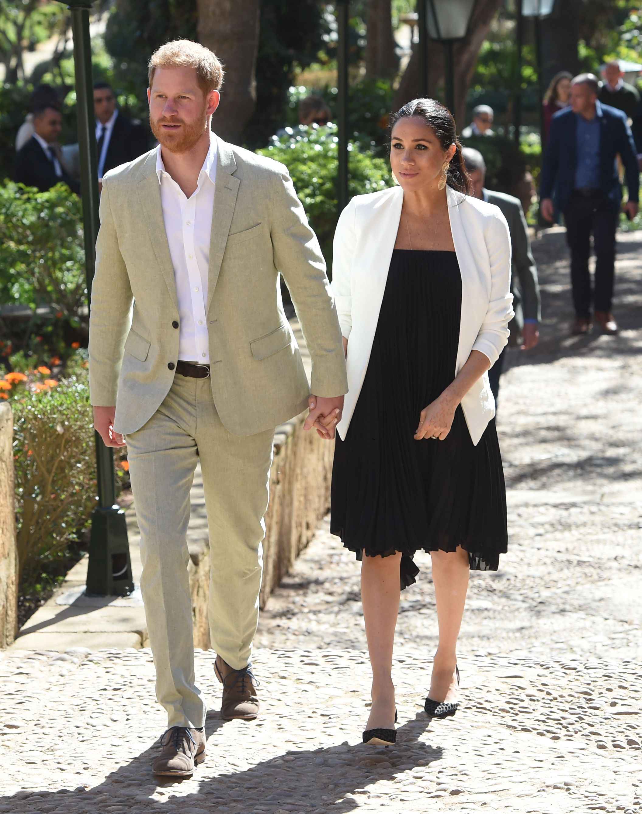 Happy couple of Meghan Markle and Prince Harry / Getty Images