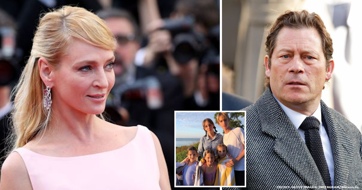 Glimpse Into Uma Thurman's Love Life and Her 3 Beautiful Children