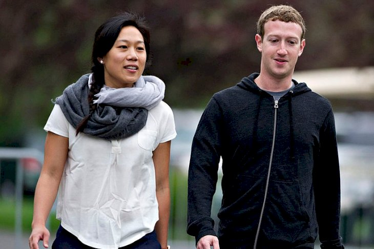 Image Credits: Getty Images / Daniel Acker / Bloomberg | Priscilla Chan and Mark Zuckerberg.