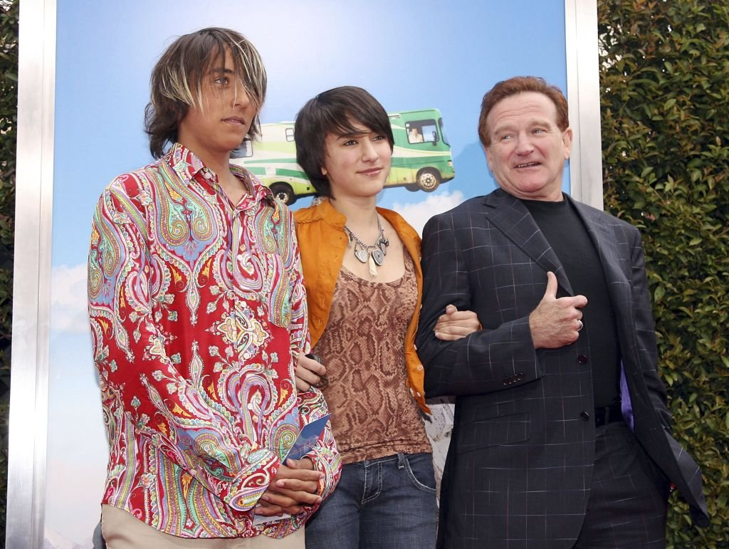 Three Wives And Three Children Of Iconic Robin Williams Pictured are carl wilson, ricky fataar, and jerney kaagman of earth and fire. iconic robin williams