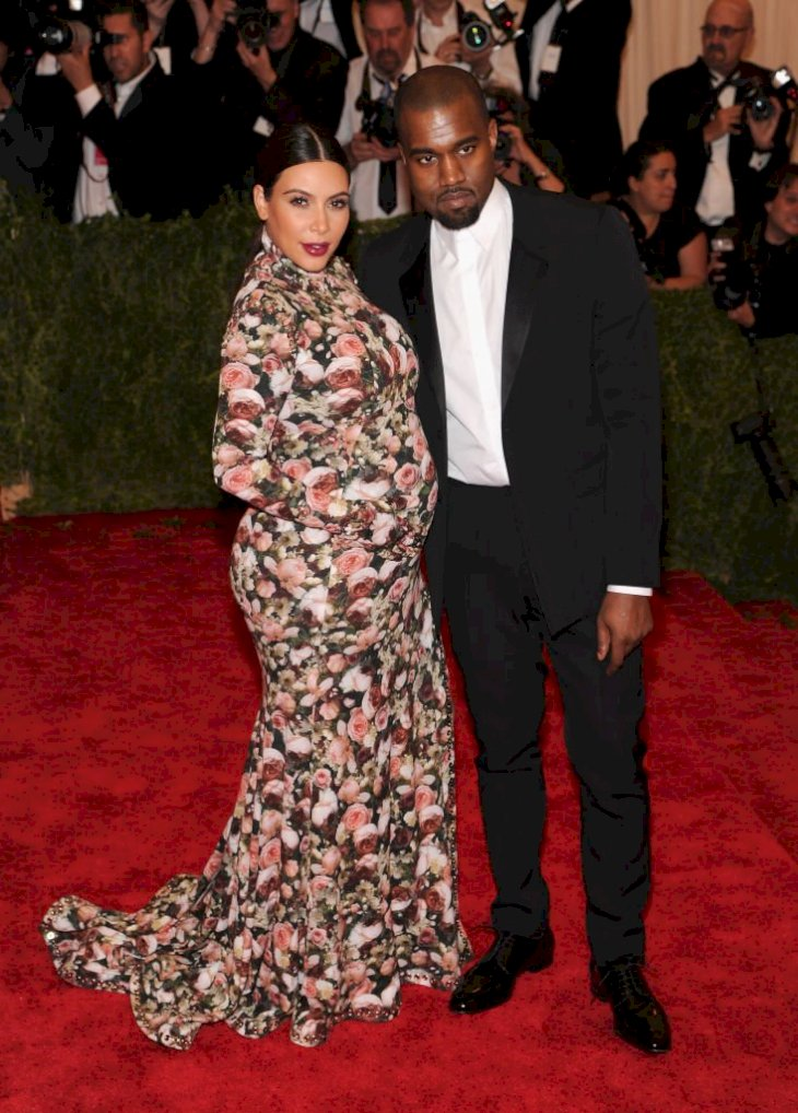 Image Credit: Getty Images / Kanye West and Kim Kardashian are photographed at the Met Gala.