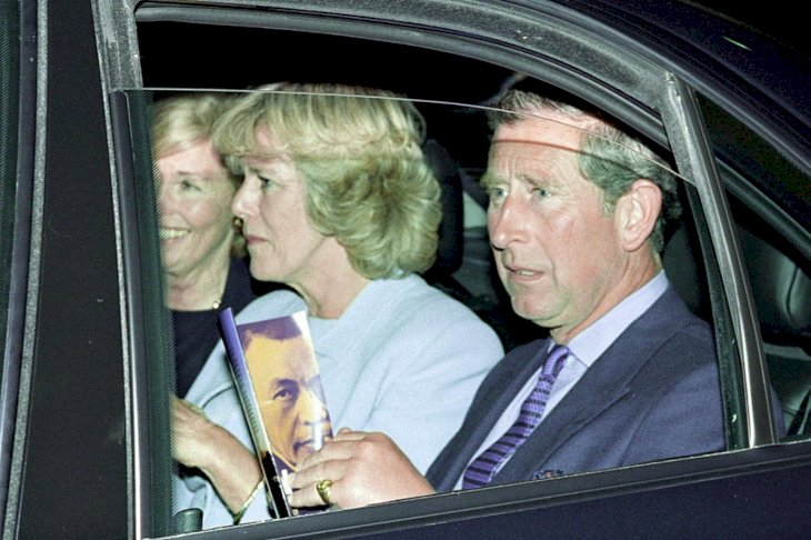 Image Credit:Getty Images/ Tim Graham Photo Library/Tim Graham | Prince & Camilla leaving the Royal Festival Hall 1999