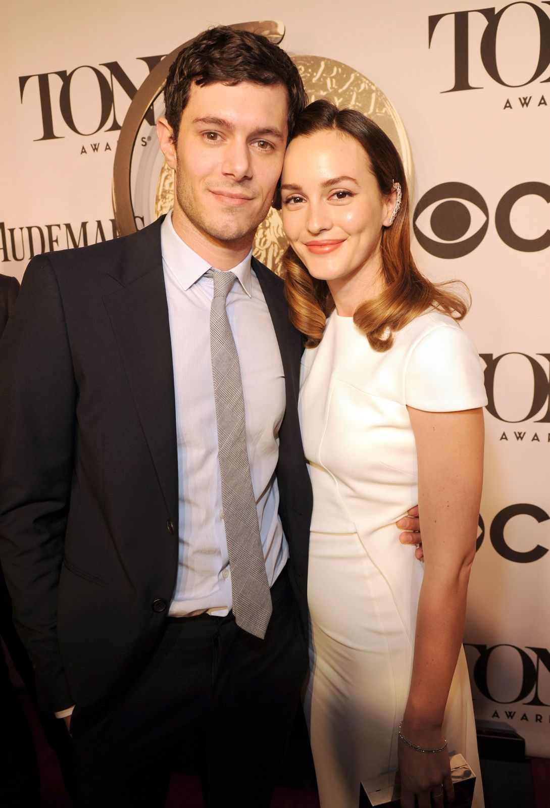 Leighton Meester and Adam Brody attending the Tony Awards/Photo: Getty Images