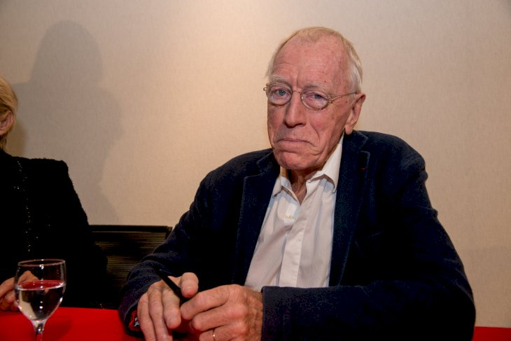 Image Credit: Getty Images/Bruno Vigneron | Max von Sydow attends the 5th Lyon Film Festival on October 17, 2013