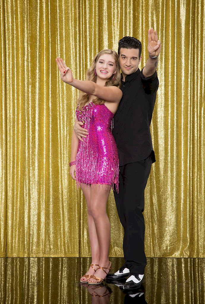 Image Credit: Getty Images/Walt Disney Television via Getty Images/Craig Sjodin | Willow Shields and her partner Mark Ballas from season 20