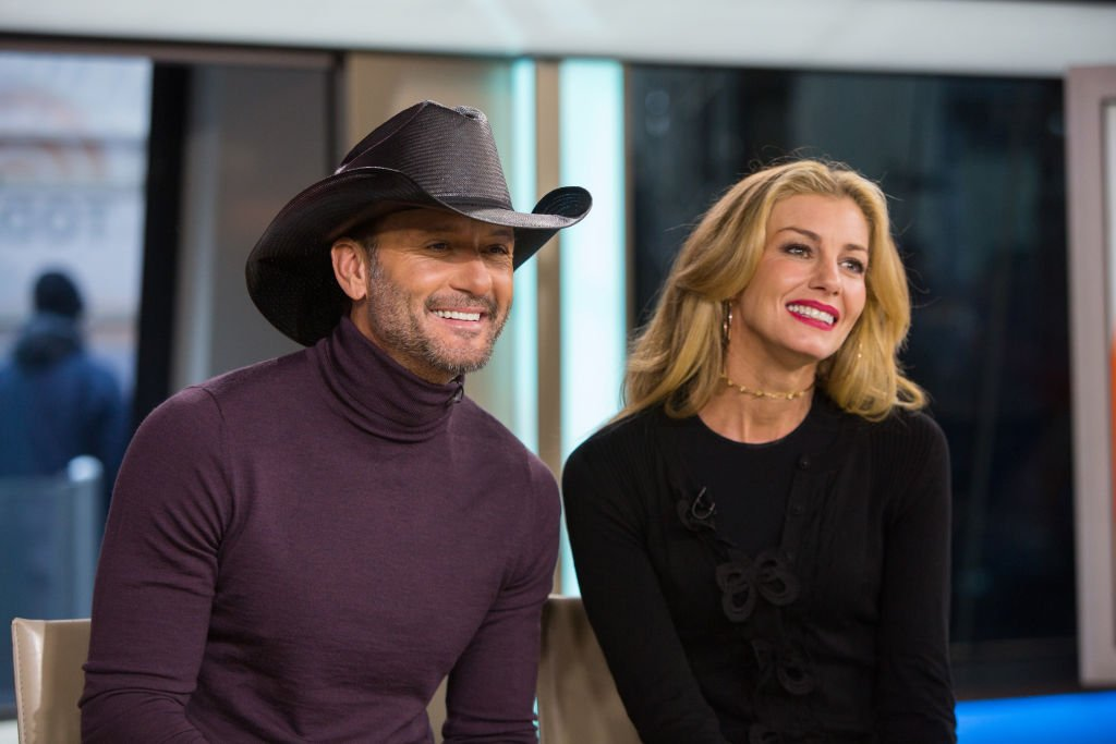 Image Credits: Getty Images / Nathan Congleton / NBCU Photo Bank / NBCUniversal | Tim McGraw and Faith Hill on Friday, November 17, 2017.