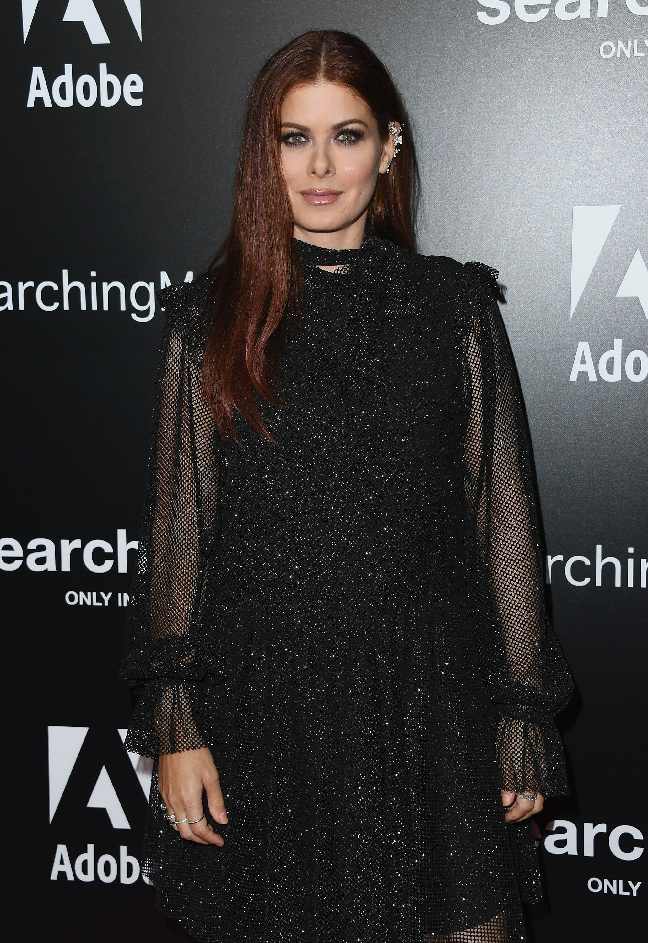 Image Source: Getty Images| A photo of Debra Messing