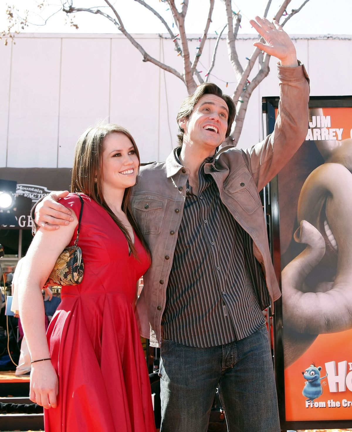 "Jim Carrey and Jane Erin Carrey at the world premiere of ""Horton Hears a Who!"" at the Mann Village Theater2008"
