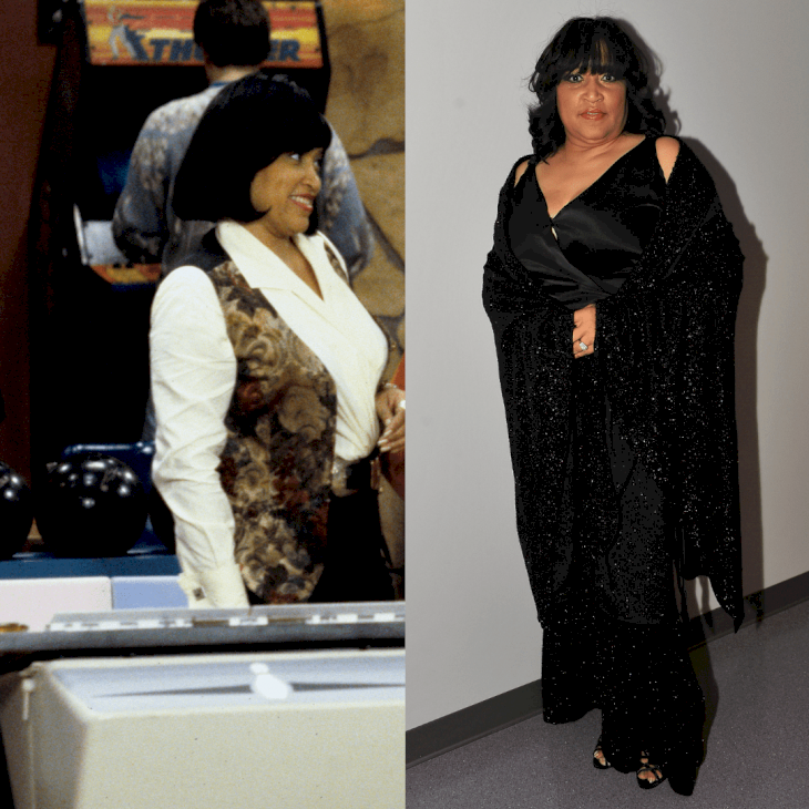 Image Credit: Getty Images / Before and After: Jackee Harry.