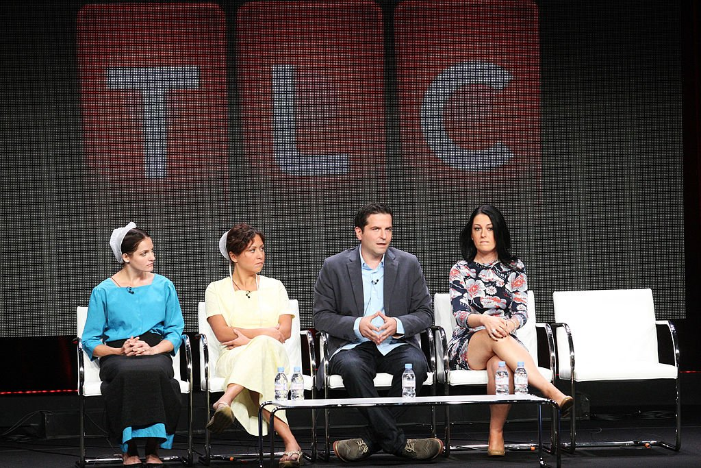 Image Source: Getty Images/Frederick M. Brown | Subjects and Producers of Breaking Amish at a TLC Panel