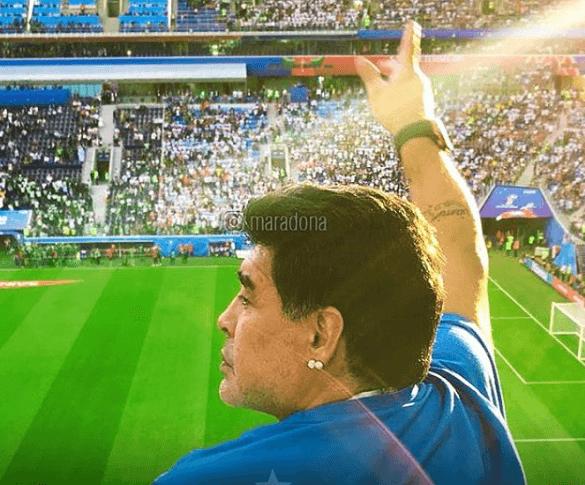 Créditos de imagen: Instagram/Maradona