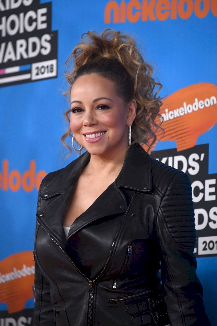 Mariah Carey at Nickelodeon's Kids' Choice Awards on March 24, 2018 in California | Photo: Getty Images
