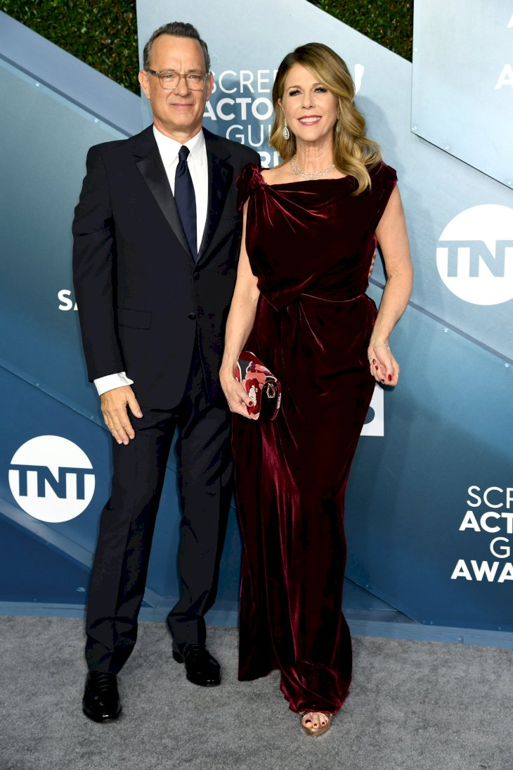 Image Credits: Getty Images / Jeff Kravitz / FilmMagic | Tom Hanks and Rita Wilson attends the 26th Annual Screen Actors Guild Awards at The Shrine Auditorium on January 19, 2020 in Los Angeles, California.