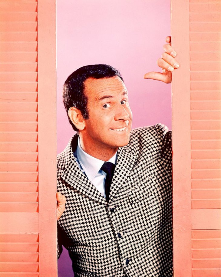 Image Credit: Getty Images/Silver Screen Collection | Don Adams in a portrait shot as Agent 86