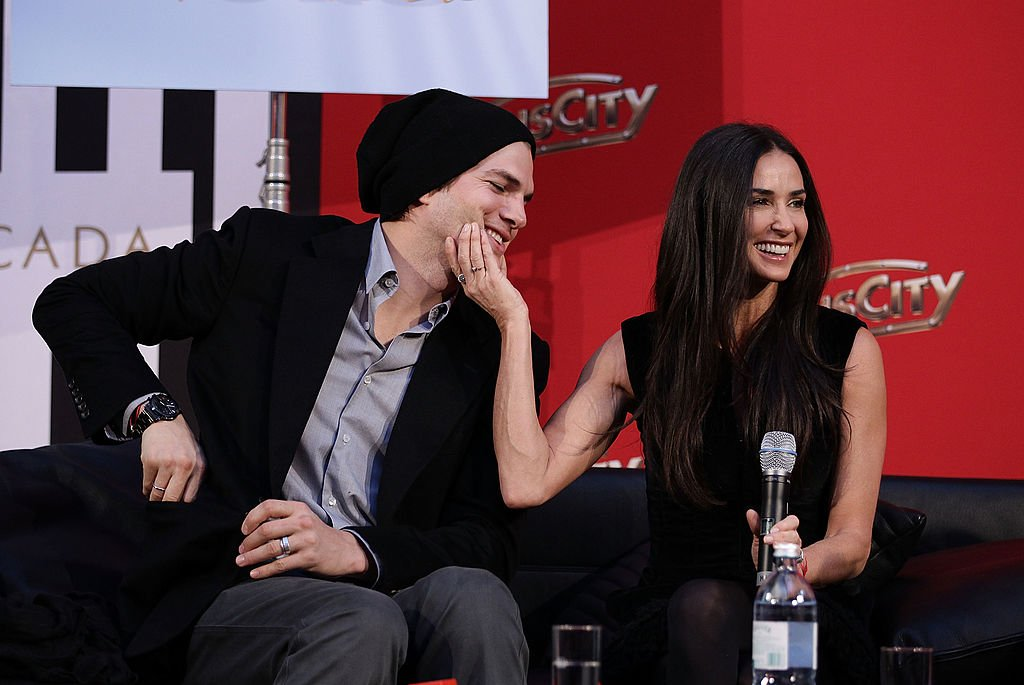 Image Credits: Getty Images / Andreas Rentz | Demi Moore and Ashton Kutcher attend the photo call for their Charity Gala at PlusCity on October 29, 2010 in Pasching near Linz, Austria.