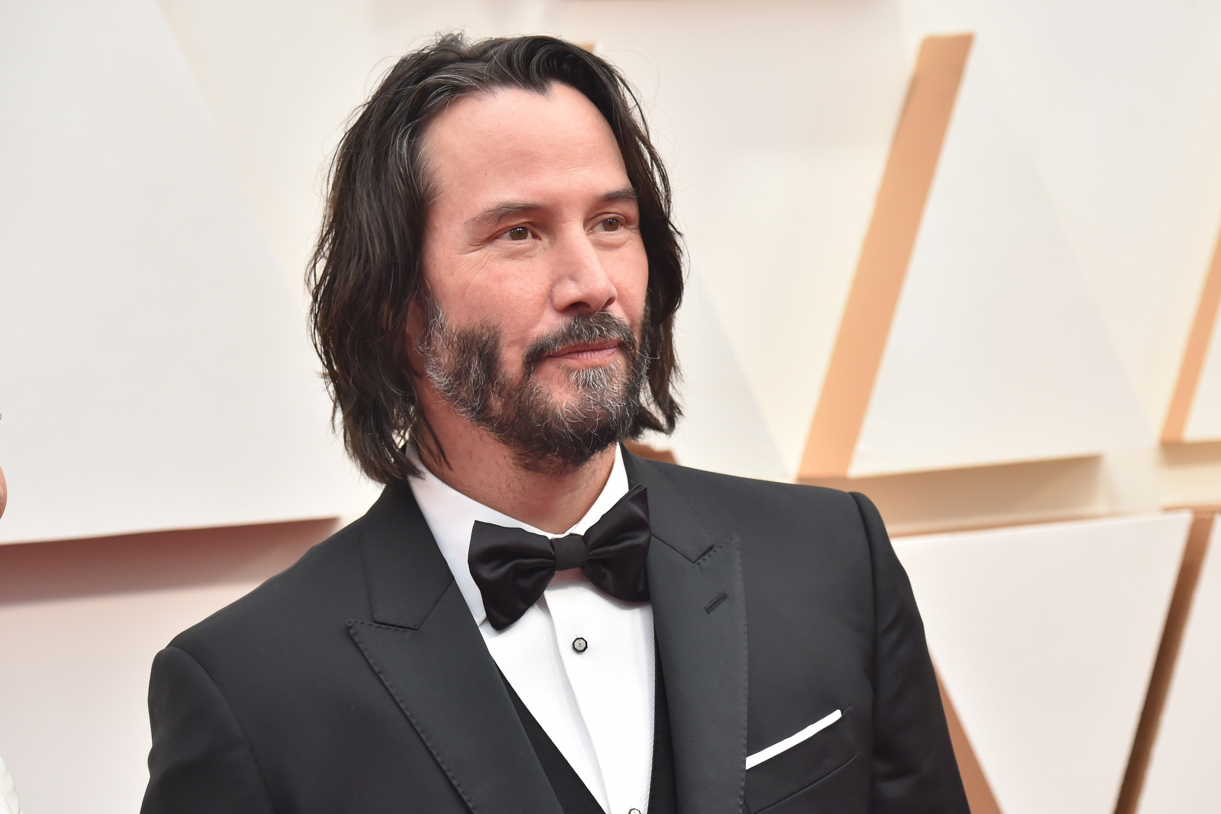 Image Credit: Getty Images/FilmMagic/Jeff Kravitz   Keanu Reeves at the Academy Awards