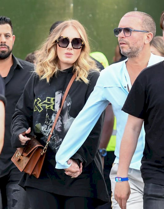 Image Credit: Getty Images / Adele attends during Barclaycard Presents British Summer Time Hyde Park at Hyde Park on July 05, 2019 in London, England.
