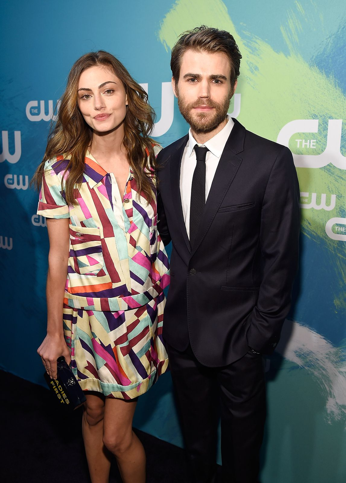 Paul Wesley and Phoebe Tonkin attending a red carpet event/Photo:Getty Images
