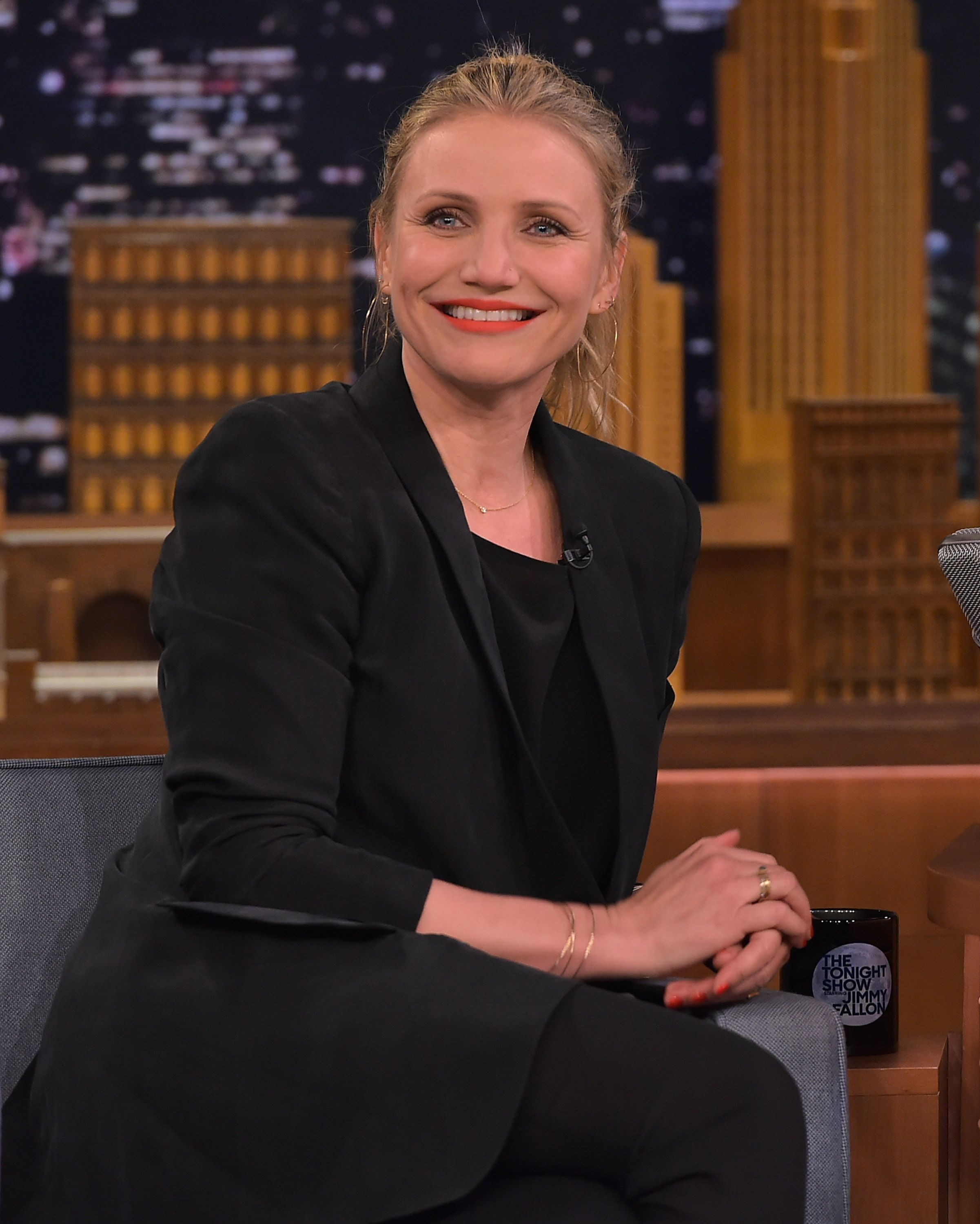 Cameron Diaz on The Tonight Show with Jimmy Fallon/Photo:Getty Images
