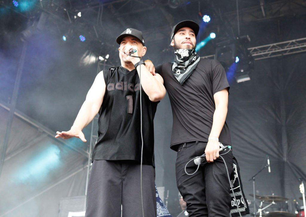 Image Credit: Getty Images / Ice-T and his son Lil Ice (Tracy Marrow, Jr.) perform during the 2017 Chicago Open Air Festival at Toyota Park on July 15, 2017 in Bridgeview, Illinois.