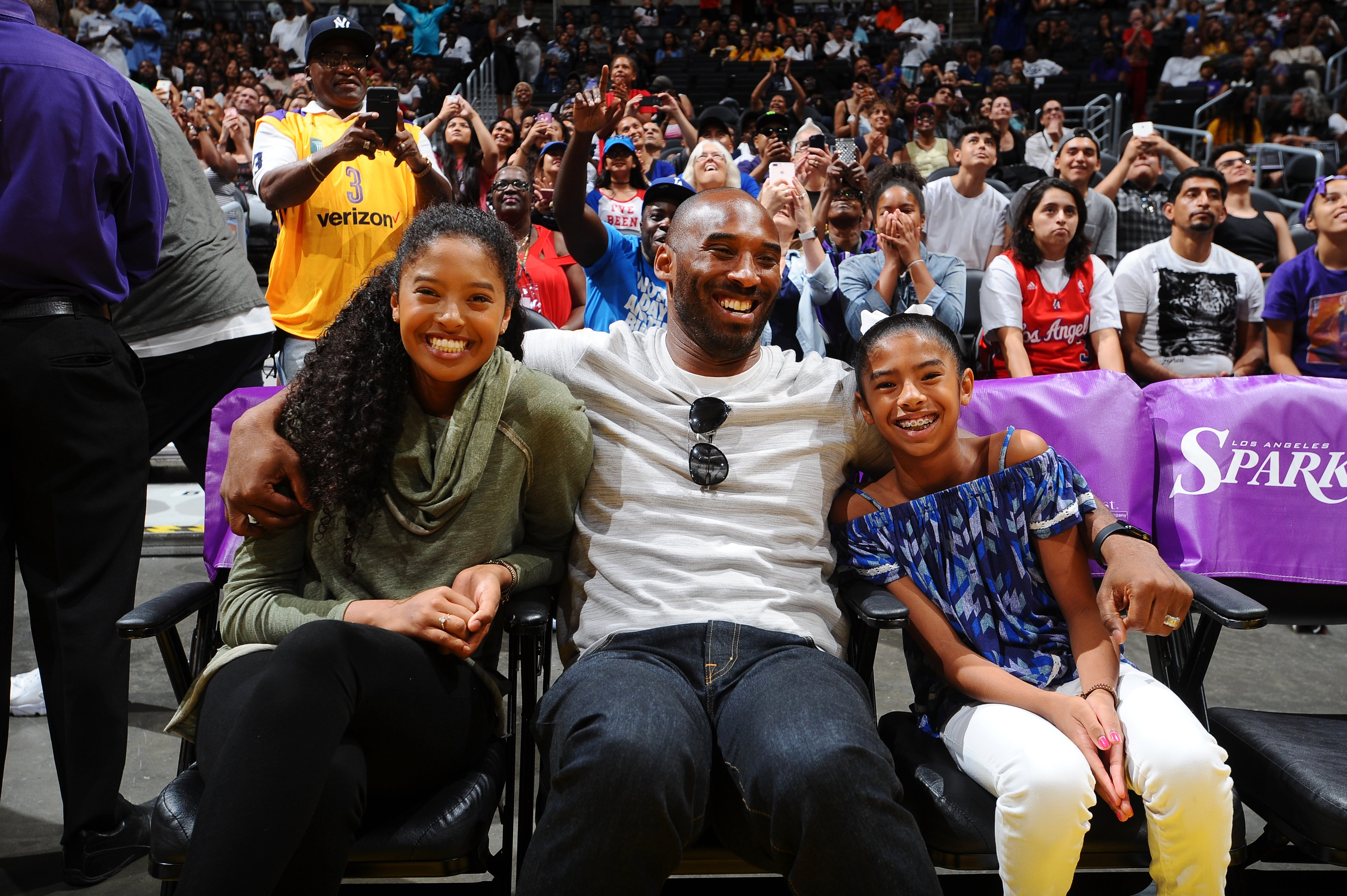 Image Source: Getty Images/Kobe with Nani and Gigi
