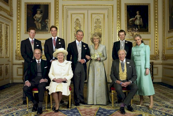 Image Credit: Getty Images / Laura Lopes with the Royal Family.