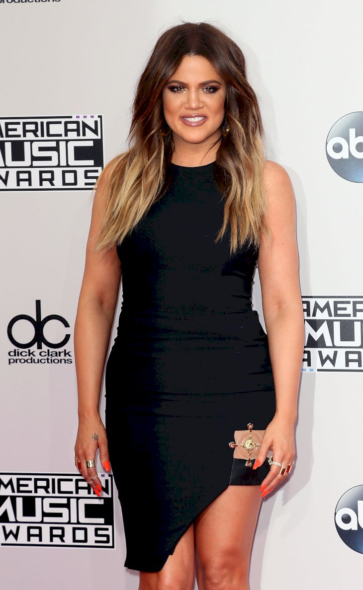 Image Credit: Getty Images / Khloé Kardashian at an event.