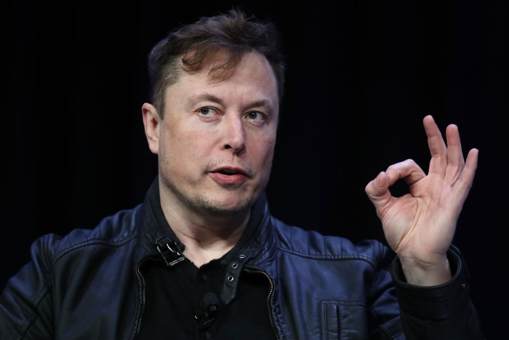 Image Credit: Getty Images / Elon Musk, founder and chief engineer of SpaceX speaks at the 2020 Satellite Conference and Exhibition March 9, 2020 in Washington, DC.
