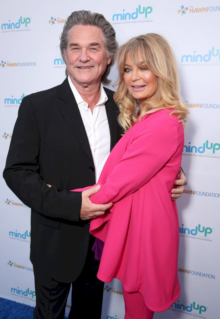 Image Credit: Getty Images / Goldie Hawn and Kurt Russell on the red carpet.