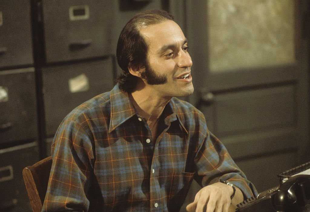 Image Credit: Getty Images / Gregory Sierra on set for Barney Miller.
