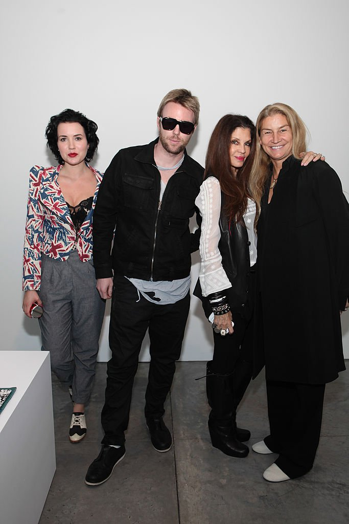 Image Source: Getty Images/Steve Zak Photography/Angie King, Elijah Blue, Loree Rodkin and Monicka Hamssenteele attend the Newbark presentation during Mercedes-Benz Fashion Week Spring 2014 at Paul Kasmin Gallery on September 10, 2013 in New York City