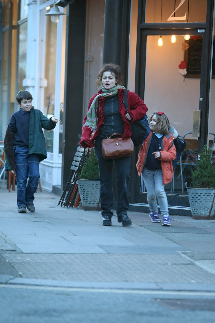 Helena Bonham Carter with her kids / Photo:Getty Images