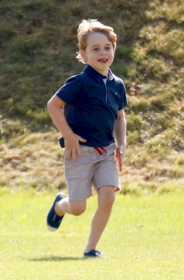 Image Credit: Getty Images / Prince George playing at home.