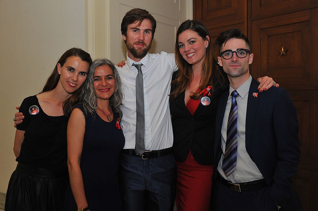 Image Credit: Getty Images / Naomi deLuce Wilding, Laela Wilding, Tarquin Wilding, Eliza Carson and Quinn Tivey attend event at the Rayburn House Office Building on April 13, 2015 in Washington, DC.