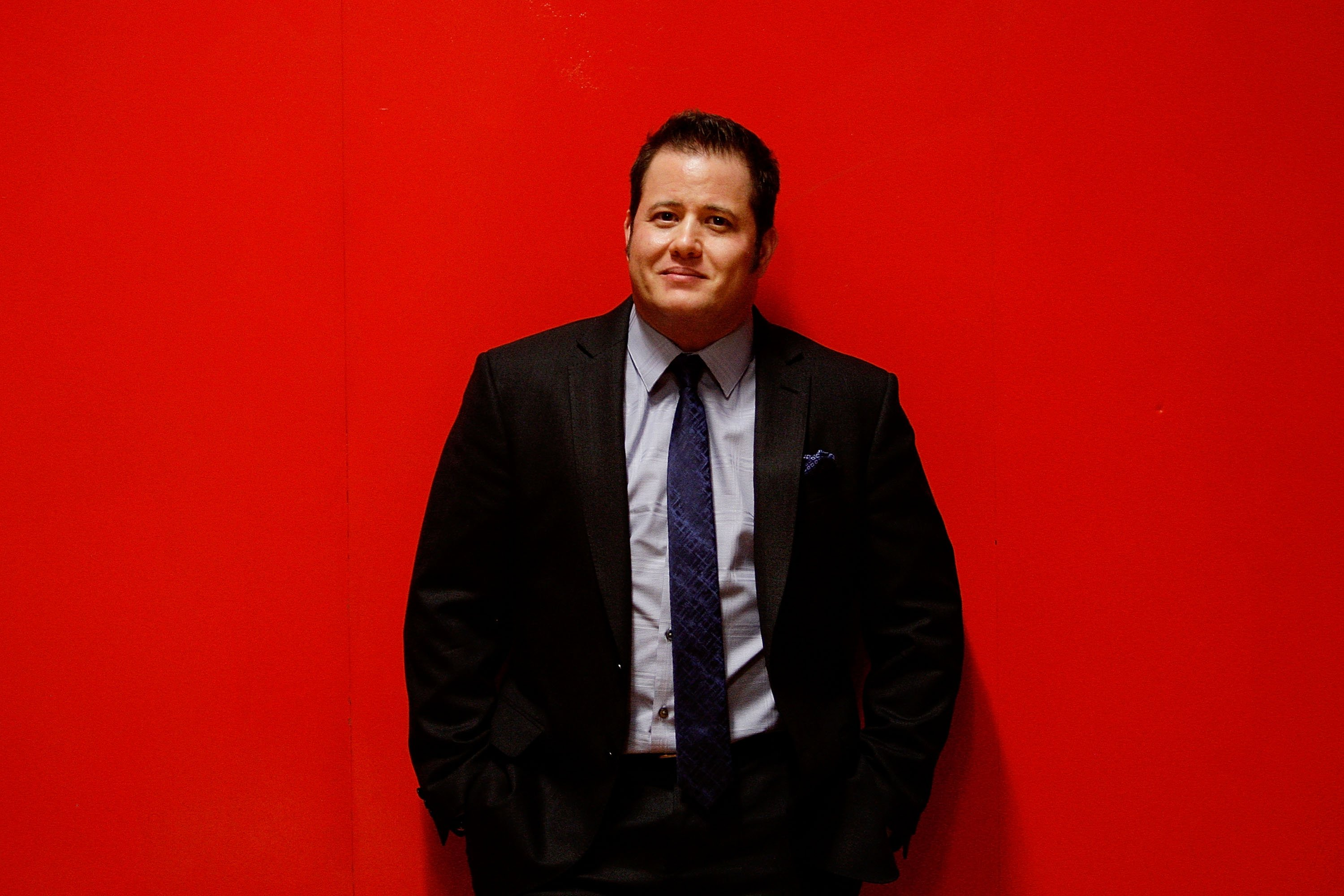 Image Source: Getty Images/Chaz Bono posing for the camera