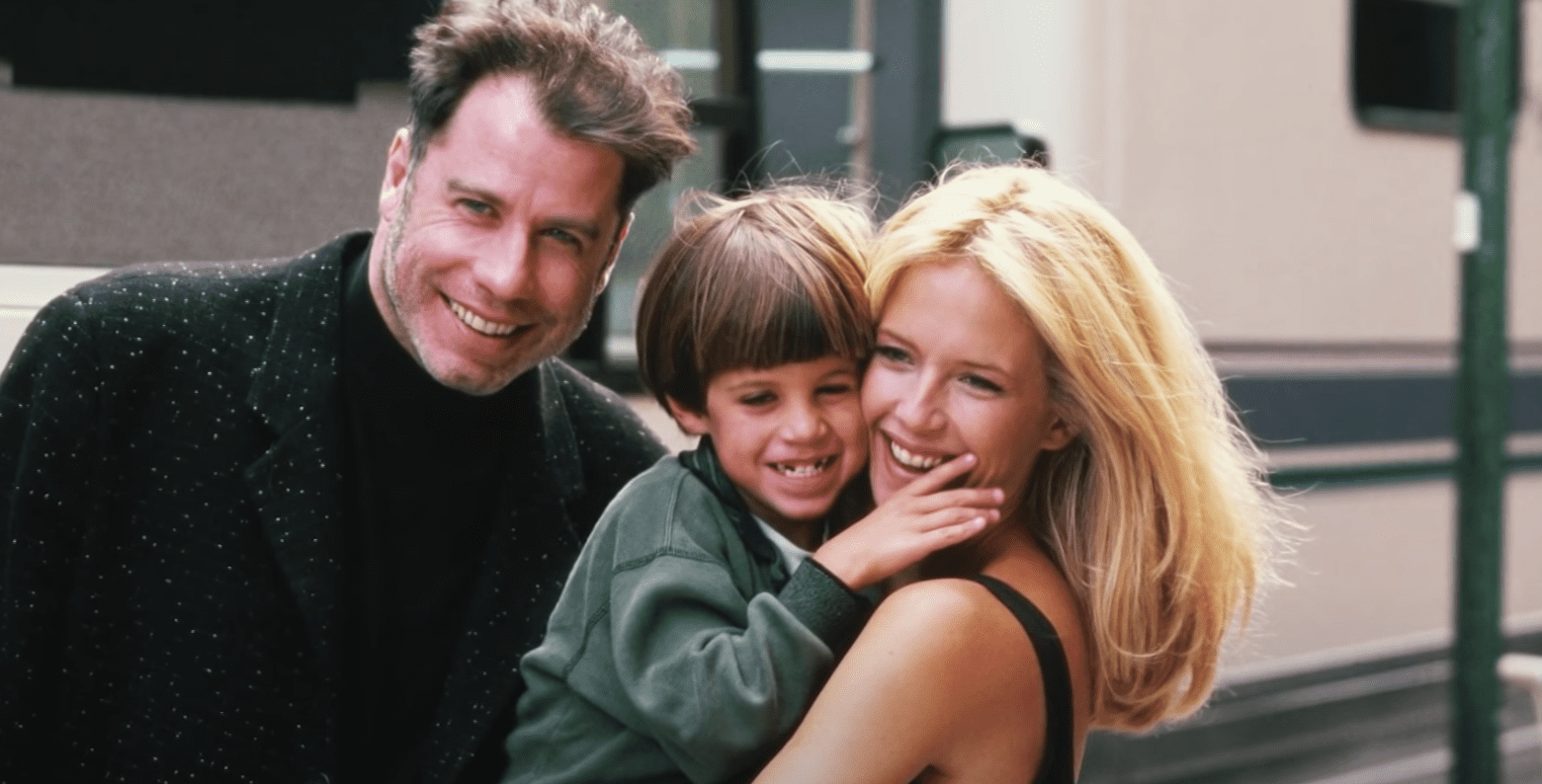 Image Source: Youtube/Access| Kelly and John with their son